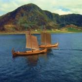 david-lomax-replica-viking-ships-oseberg-and-gaia-near-ulstenvik-norway-scandinavia-europe