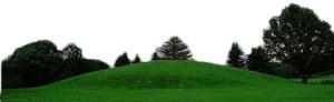 The Oseberg Mound in Vestfold