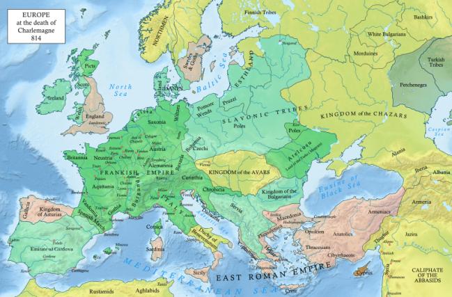 Europe 9th century