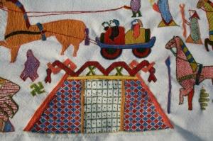 Oseberg tapestry replica