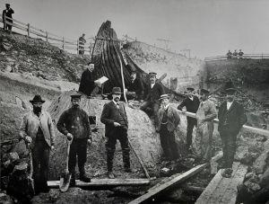 excavation_oseberg_ship_1904