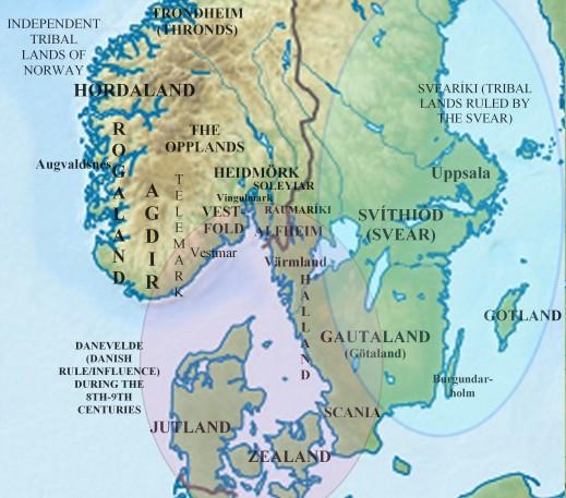 tribes of Scandinavia