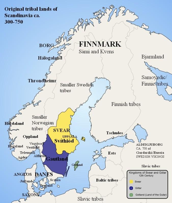 Scandinavian tribes